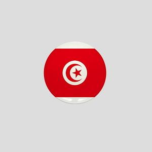 Tunisia Flag Mini Button