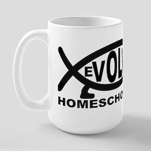 Evolved Homeschooler Large Mug