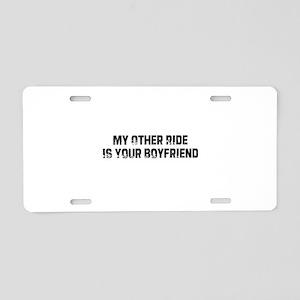 I0113081826417 Aluminum License Plate