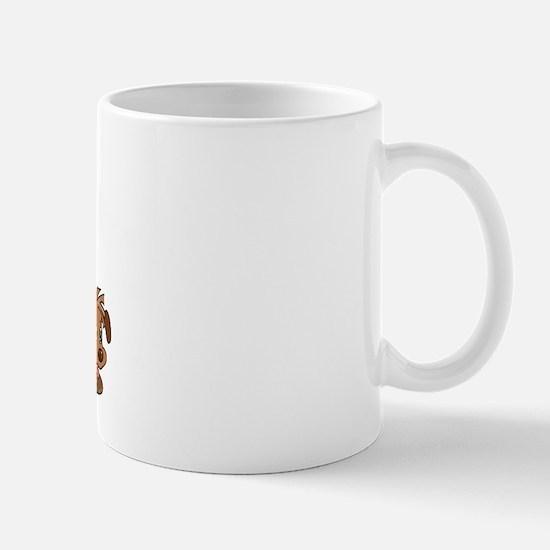 I Love ASL & Puppies Mug