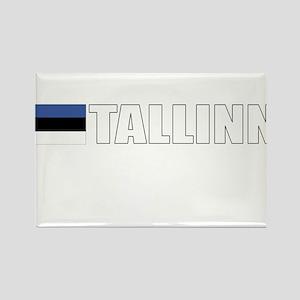 Tallinn, Estonia Rectangle Magnet