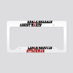 Lacrosse AWorded License Plate Holder