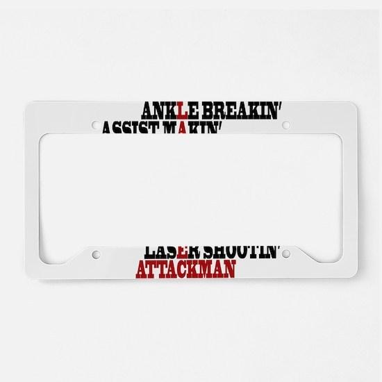 Lacrosse AWorded License Plate Holder