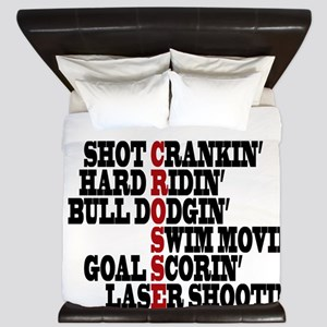 Lacrosse AWorded King Duvet