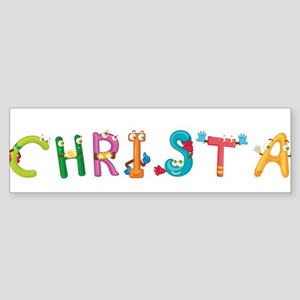 Christa Bumper Sticker
