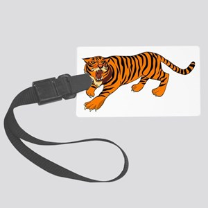 Tiger Large Luggage Tag