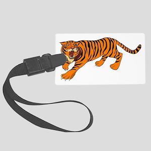 Tiger Large Luggage Tag