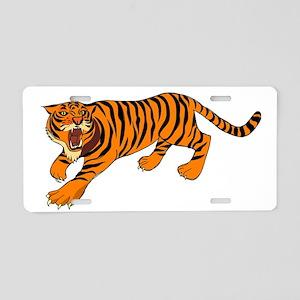 Tiger Aluminum License Plate