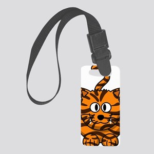 Tiger Cat Small Luggage Tag
