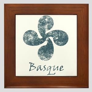 Basque Grunge Framed Tile