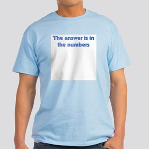 4 8 15 16 23 42 LOST Numbers gift Light T-Shirt