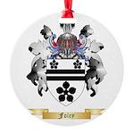 Foley Round Ornament