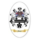 Foley Sticker (Oval 50 pk)