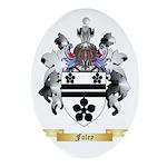 Foley Ornament (Oval)