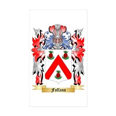 Foffano Sticker (Rectangle 50 pk)