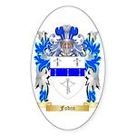 Foden Sticker (Oval 50 pk)