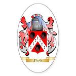 Floyde Sticker (Oval 50 pk)