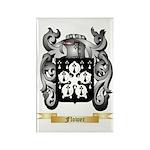 Flower Rectangle Magnet (100 pack)