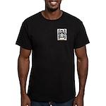 Flourette Men's Fitted T-Shirt (dark)
