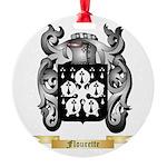 Flourette Round Ornament