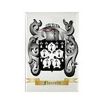 Flourette Rectangle Magnet (100 pack)