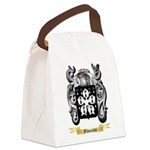 Flourette Canvas Lunch Bag
