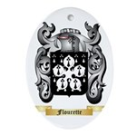 Flourette Ornament (Oval)