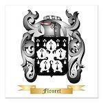 Flouret Square Car Magnet 3