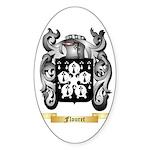 Flouret Sticker (Oval)