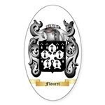 Flouret Sticker (Oval 10 pk)