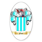 Floro Sticker (Oval 10 pk)
