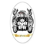 Flork Sticker (Oval)