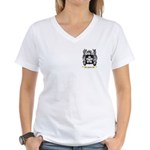 Floris Women's V-Neck T-Shirt