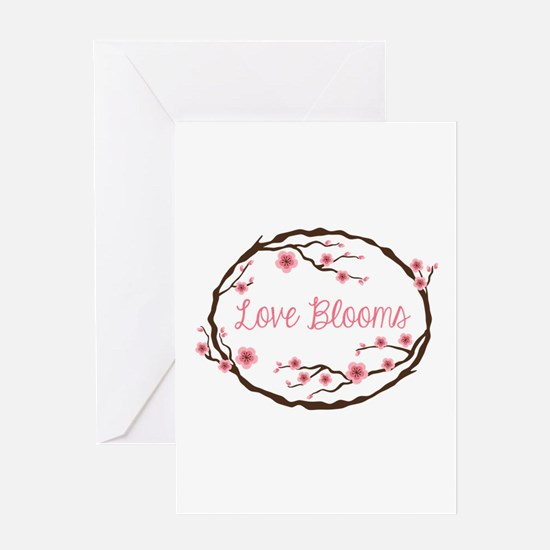 Love Blooms Greeting Cards