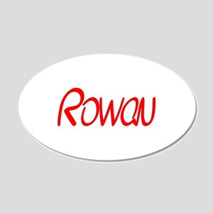 Rowan 20x12 Oval Wall Decal