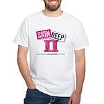 Skin Deep Ii White White T-Shirt