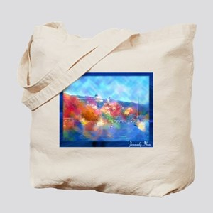 Catalina Island Watercolor By Jennady Ann Tote Bag