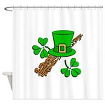 Color Me Irish Shower Curtain