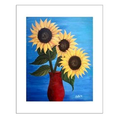 Sunflowers Small Posters