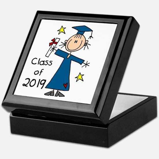 Stick Girl Grad 2016 Keepsake Box