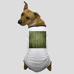 Yellow wood panel texture Dog T-Shirt