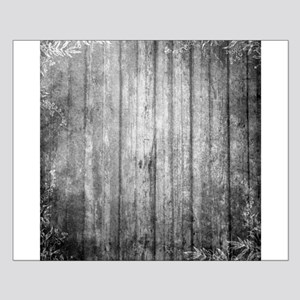 White wood panel texture Posters