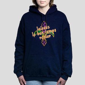 Mardi Gras Bon Temps Rouler Hooded Sweatshirt