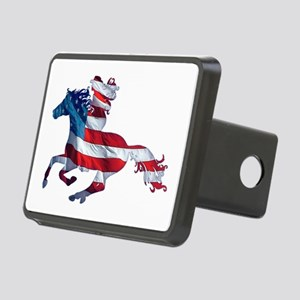 American Western Horse Cow Rectangular Hitch Cover