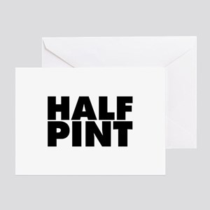 Half pint stationery cafepress half pint greeting card m4hsunfo