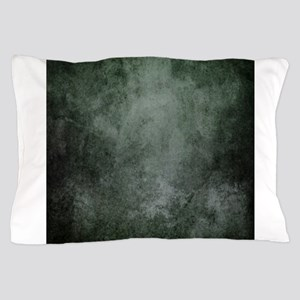 Teal grunge texture Pillow Case