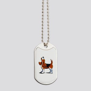 Tricolor Beagle Bay Dog Tags
