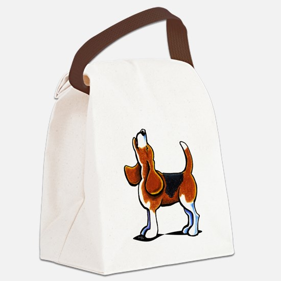 Tricolor Beagle Bay Canvas Lunch Bag
