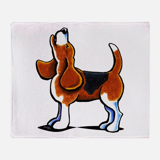 Tricolor Beagle Bay Throw Blanket