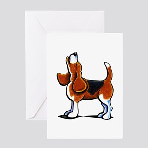 Tricolor Beagle Bay Greeting Card